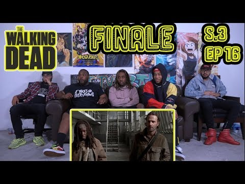 "The Walking Dead Season 3 Episode 16 Finale! ""Welcome To The Tombs"" Reaction/Review"