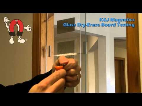 K&J Magnetics - Magnets For Glass Dry-Erase Boards