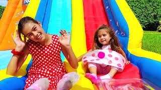 Nastya Artem and Mia -  all the fun and games at home