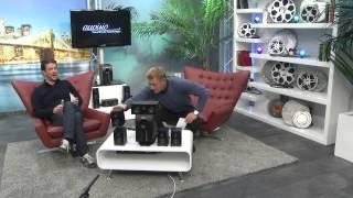auvisio 5.1-Surround-Sound-System mit Fernbedienung