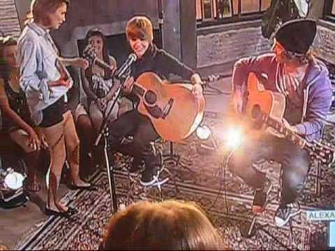 justin bieber on alexa chung on MTV part 2