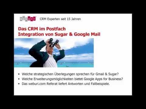 Das CRM im Postfach - Integration von Sugar & Google Mail