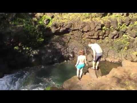 Hoopii Falls Kauai HI