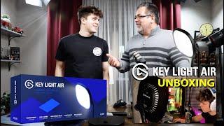 Elgato Key Light Air Unboxing for Bryson's Birthday