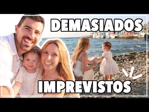 QUÉ MÁS PUEDE PASAR !! Vlog SANTORINI y MYKONOS ! Familia Royitos