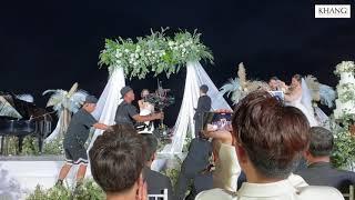 Màn hát mở màn mừng đám cưới Đông Nhi và Ông Cao Thắng đã được hé lộ.