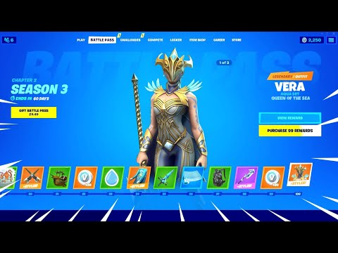 Fortnite Season 3 Battle Pass Epic Youtube