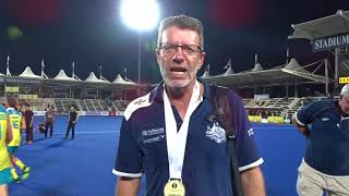 Colin Batch after winning Sultan Azlan Shah Cup for the 10th time