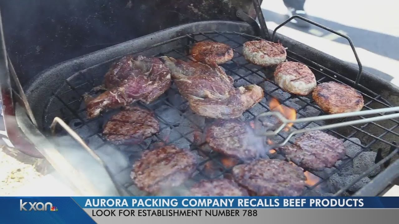62K pounds of beef recalled ahead of Memorial Day weekend