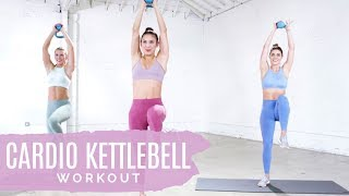 The Best Metabolism-Boosting Cardio Kettlebell Workout