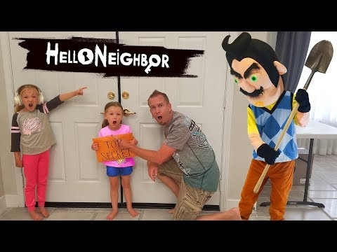 Hello Neighbor in Real Life TOP SECRET Scavenger Hunt!!! thumbnail