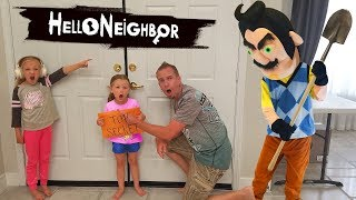 Hello Neighbor in Real Life TOP SECRET Scavenger Hunt!!!