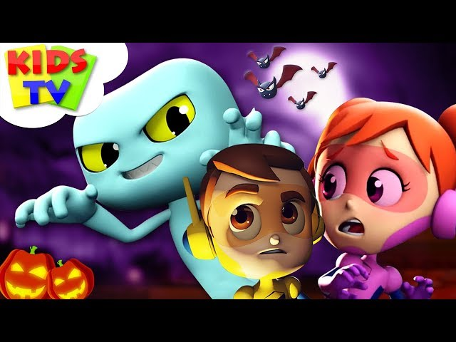 It's Halloween Night | Cartoon Videos For Children | Halloween Songs by Kids Tv