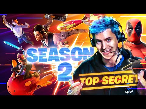 NINJA PLAYS FORTNITE CHAPTER 2 SEASON 2!!