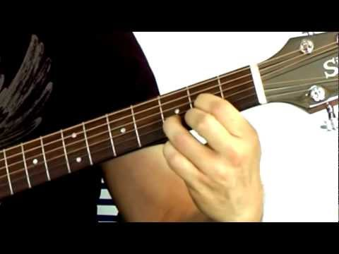 Easy Guitar Chords for Beginners - Tutorial 1 (D and A7)