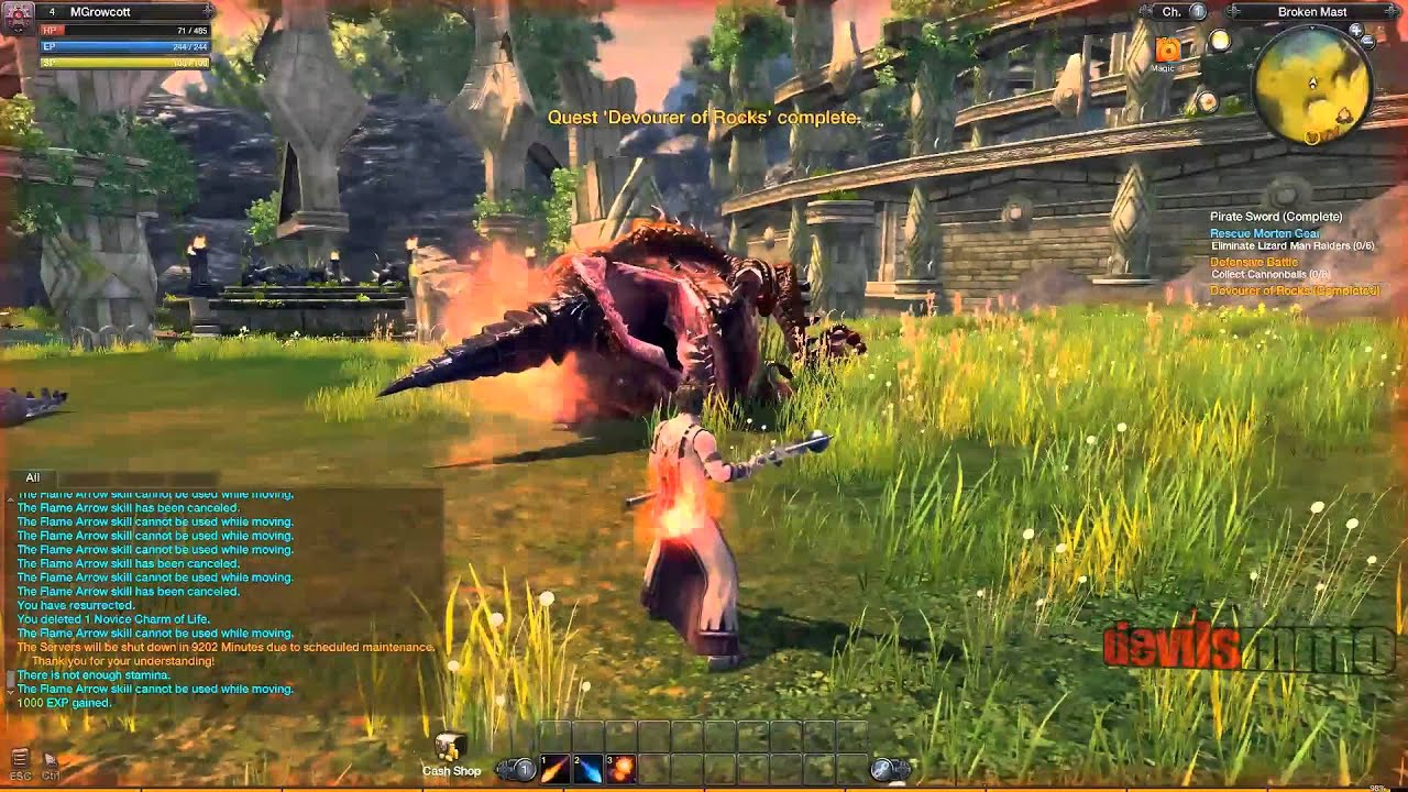 RaiderZ Review and Download - MMO Bomb