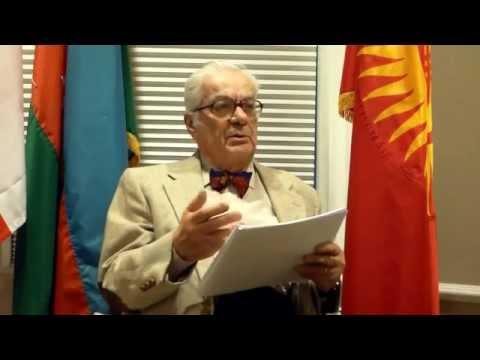 Professor Turkkaya Ataov Lecture on Armenian Revolt