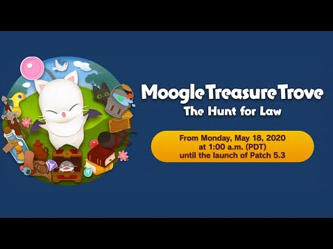 FFXIV Moogle Treasure Trove - The Hunt For Law