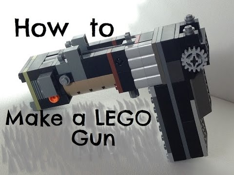 Updated: How to make a LEGO gun that shoots LEGO missiles - YouTube