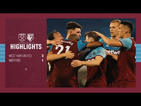 EXTENDED HIGHLIGHTS | WEST HAM UNITED 3-1 WATFORD