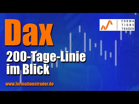 Dax: 200-Tage-Linie im Blick