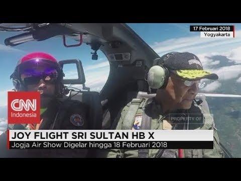 Joy Flight Sri Sultan Hamengku Buwono X
