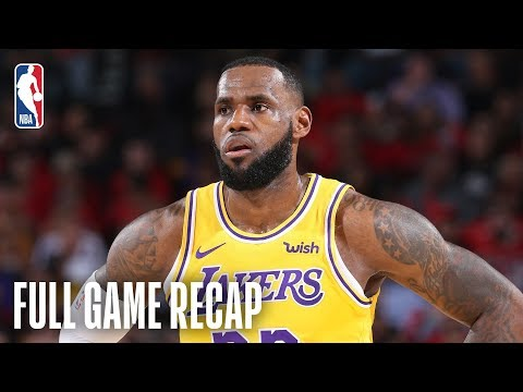 lakers-vs-trail-blazers-|-lebron-scores-26-points-in-lakers-debut-|-october-18,-2018