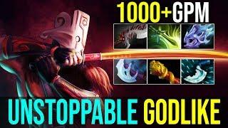 WTF Farming Speed 1kGPM [Juggernaut] Unstoppable GODLIKE Vs 6Slots Anti-Mage | Dota 2 FullGame