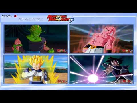 DRAGON BALL RAGING BLAST 3 / DRAGON BALL FOREVER NEW GAME FOR 2016-2017