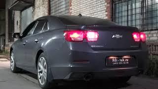 Выхлоп с регулировкой звука на Chevrolet Malibu LTZ 2.4 атмо