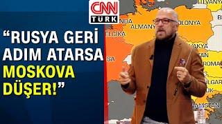 Rusya-Ukrayna savaşırsa Türkiye'ye etkisi ne olur? Mete Yarar harita üzerinde anlattı - Akıl Çemberi