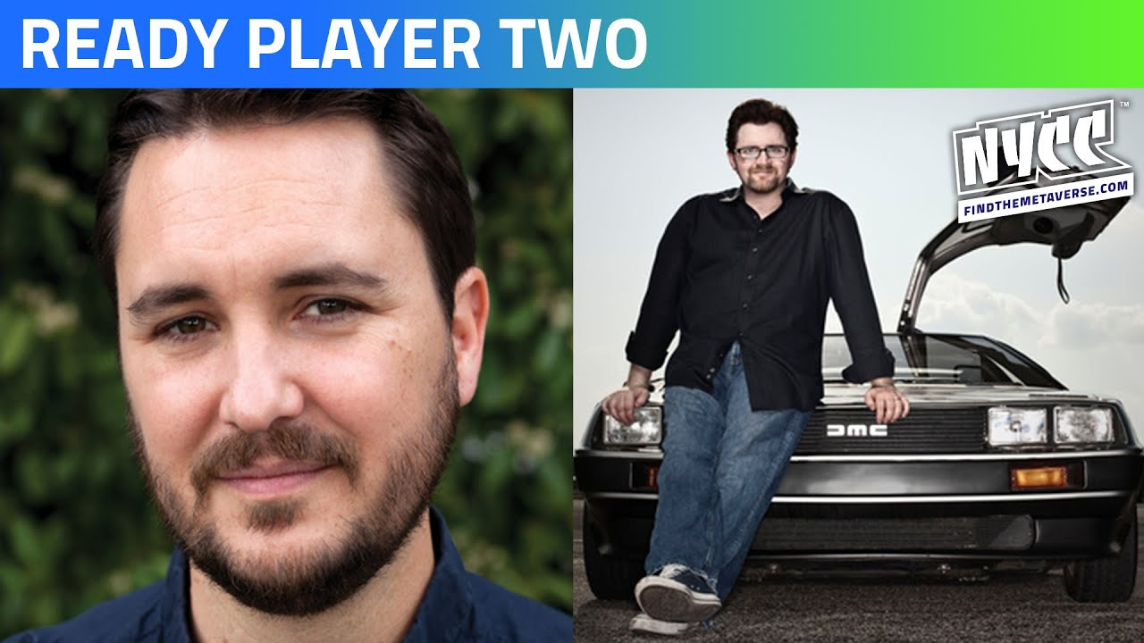 ready player two author ernest cline reveals plot details at new york comic con deadline ready player two author ernest cline