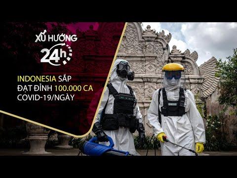 Bản tin Xu hướng 24h 16/7/2021: Indonesia sắp đạt đỉnh 100.000 ca Covid-19/ngày| VTC Now