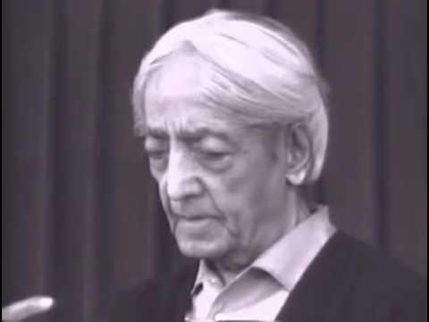 Krishnamurti - Isolation, Intelligence, Meditation (Talk 2/4)