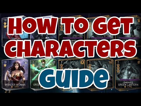 INJUSTICE 2 MOBILE | Guide | How To Get New Characters