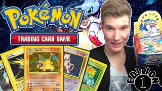 Das ERSTE Set aus 1999 ! Pokemon Base Set Booster Box Opening