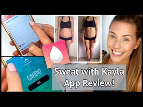 REVIEW: Sweat with Kayla App + Guide Comparison | xameliax