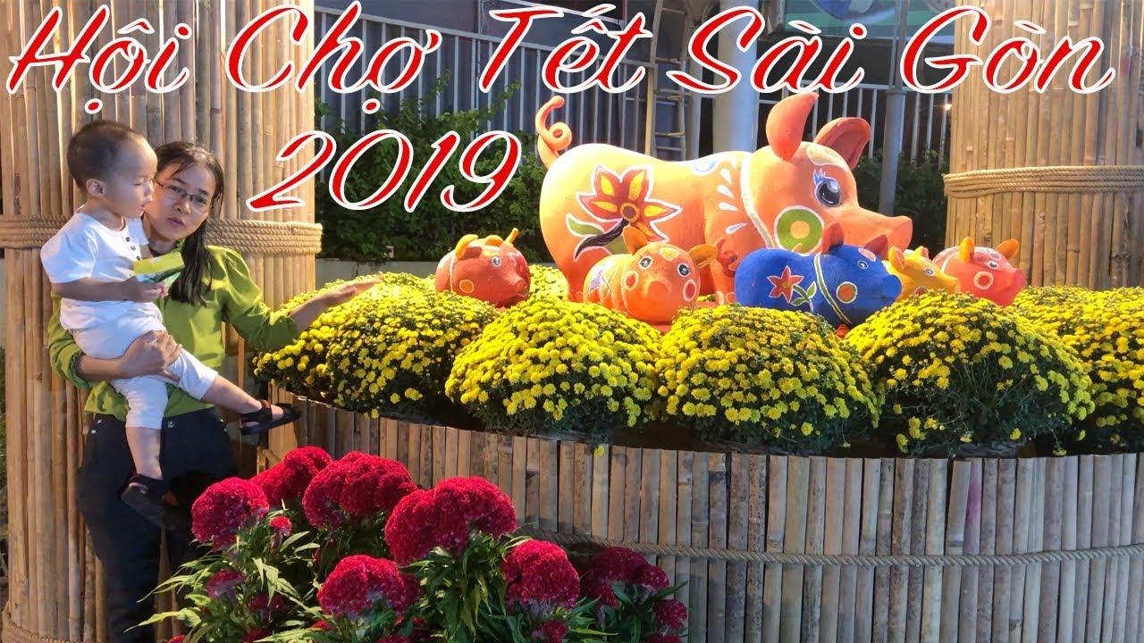 Hội Chợ Tết Sài Gòn 2019 Tại Nhà Thi Đấu Phú Thọ