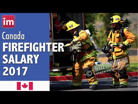 Firefighter Salary in Canada - Jobs in Canada