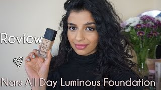 KIN | REVIEW and DEMO | Nars All Day Luminous Weightless Foundation
