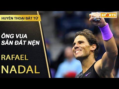 Huyền thoại bất tử  Rafael Nadal giành Grand Slam thứ 19 Không chỉ là Vua Đất Nện