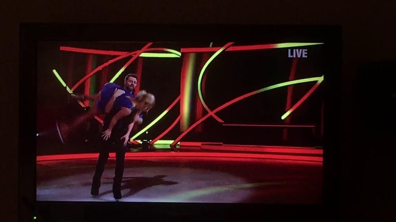 Download Dancing on Ice Brian McFadden drops his partner semi final 2019