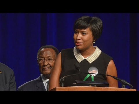 D.C. mayoral inauguration of Muriel Bowser