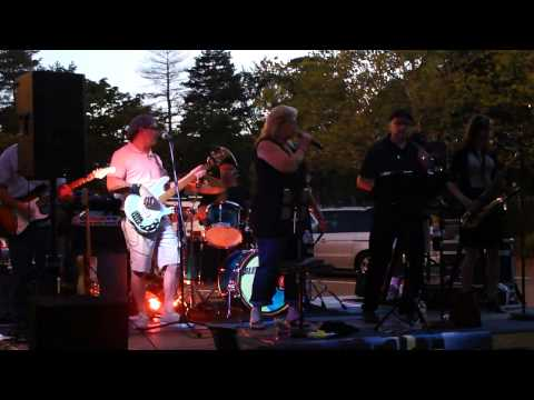 Fire Down Below cover, Blue Moon Band