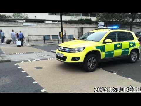 UK Emergency Vehicles 2016 - Compilation - Véhicules de Secours Britanniques