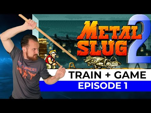 FIT-GAMERS Train + Game | Metal Slug 2 Ep 1 |