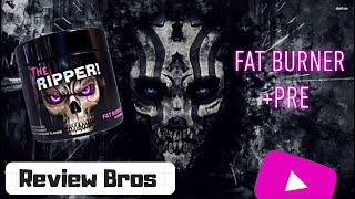 THE RIPPER BY COBRA LABS - THE FAT BURNER/PRE-WORKOUT HYBRID