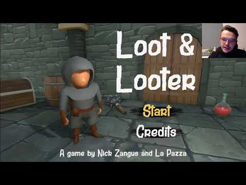 LOOT  AND SKELETONS! loot and looter new INDIE
