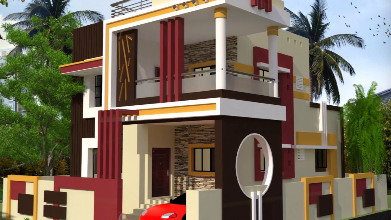 3d Home Indian Home Plans And Designs 3d Photo Youtube