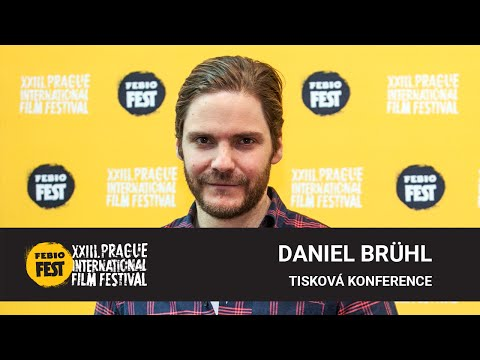 Daniel Brühl | Tisková konference MFF Praha - Febiofest